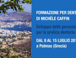 Formazione per dentisti a Patmos dal 8 al 15 luglio 2018