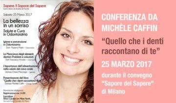 Conferenza da Michèle Caffin sulla cura dei denti olistica e la decrittografia dei denti - milano 2017