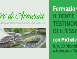 """Formation """"la dent témoin de l'être"""" à Moncucco T.se (Asti) en Italie"""