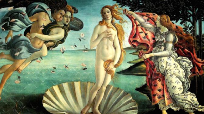 Quel est le point commun entre la Vénus de Botticelli et une belle dent ? - Michèle Caffin